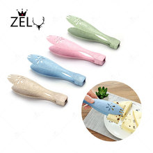ZELU Cute Kitchen Tongs BBQ Clip Salad Bread Serving Tongs Food Clip Sweet Bread Cake Cookies Ice Tongs sugars clips Tools