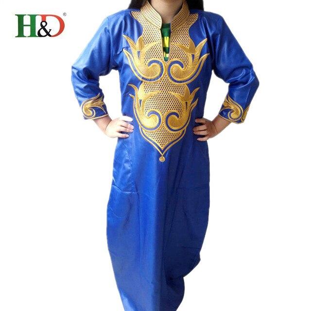 2016 Dashiki Африканских Хлопок Платья Для Женщин Топ Базен Африканских Традиционных Частных Африканский Обычай Одежда dashiki one piece