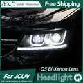 Free Shipping Car Styling for Dodge JCUV Headlights Journey LED Headlight DRL Lens Double Beam H7 HID Xenon Car Accessories