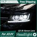 O Envio gratuito de Estilo Do Carro para Dodge JCUV Journey Faróis LED Farol DRL Lens Duplo Feixe H7 HID Xenon Acessórios Do Carro