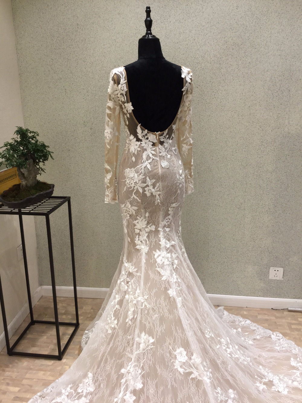 Mermaid wedding dresses with lace