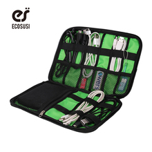 2016 Data Cable Practical Earphone Wire Storage Bag Power Line Organizer Electric Bag Flash Disk Case Digital Accessories Bags