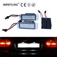 HOPSTYLING 2Pcs No Error LED Number License Plate Light Lamp For GMC Terrain 2010 2013 Car