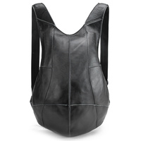 Man Woman Backpack Genuine Leather Shoulder Anti theft Back Zipper Ipad Phone Pocket Pouch Business Travel Mochila Escolar Gifts
