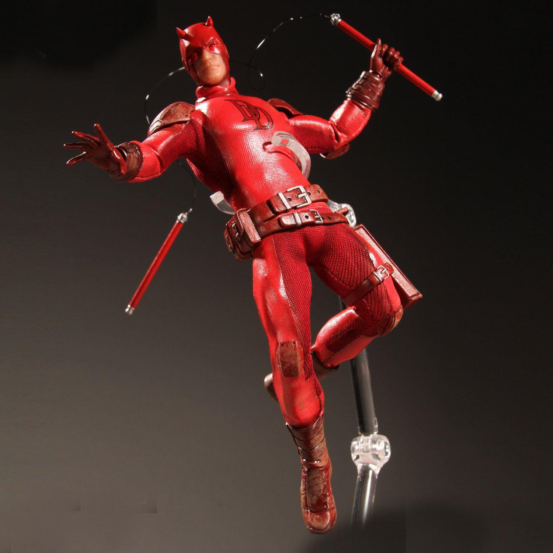 Super Hero Daredevil 1:12  Action Figure Toys daredevil volume 1