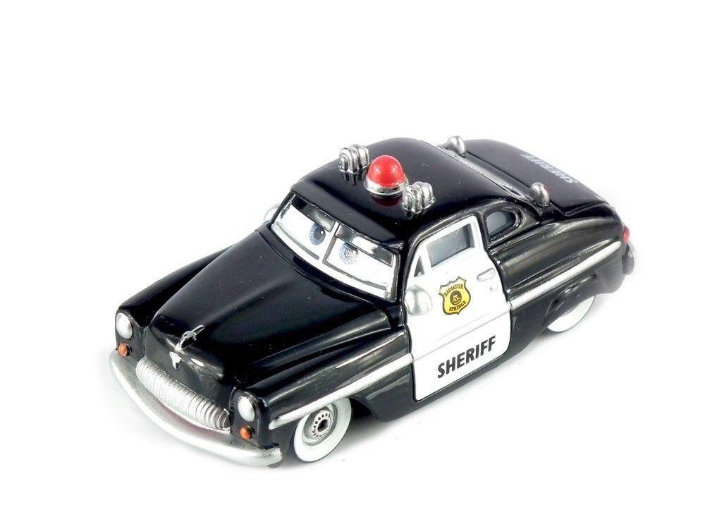 Cars 3 Sheriff Diecast Metal Classic font b Toy b font cars for Kids Children Brio