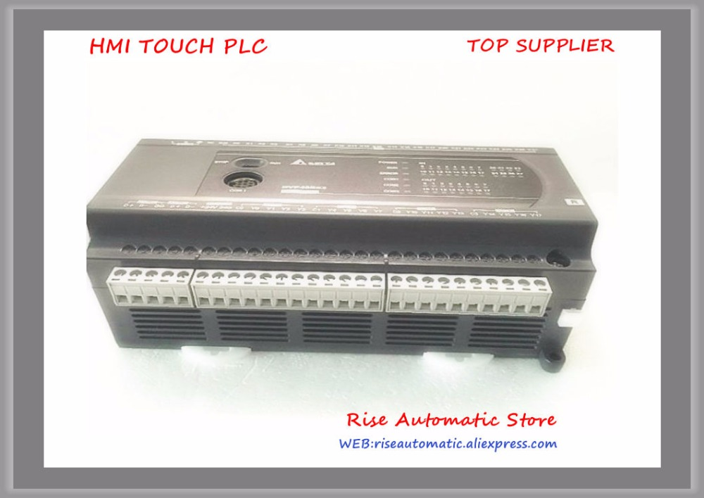 DVP40ES200R New Original PLC ES2 series 100 240VAC 24DI 16DO Relay output