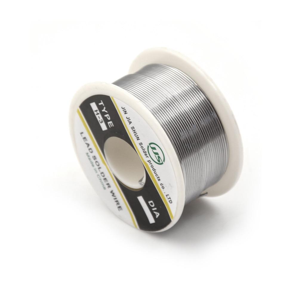 63/37 Олово 0,8 мм канифоли основной олово/свинец 0,8 мм Розин рулона Flux припоя катушка 100 г