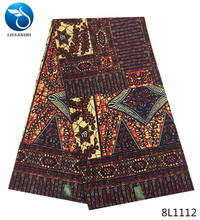 LIULANZHI 2018 wax fabric african print real 6yards/piece on sale new products 8L1109-8L1127