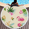 Round Patterned Beach Towel - Cover-Up - Beach Blanket 14