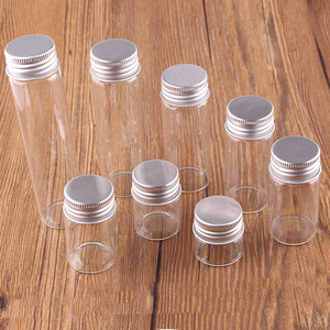 Image 3 - Frascos de terrario transparente con tapa de tapón roscado plateado, 10ml, 15ml, 20ml, 25ml, 30ml(1OZ), 40ml, 50ml, 60ml(2OZ), botellas de especias de vidrio, 24 uds.