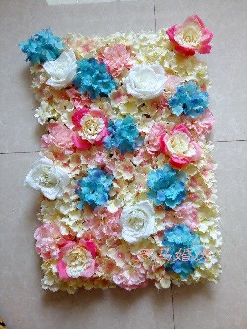 20 pçs lote colorido da flor do