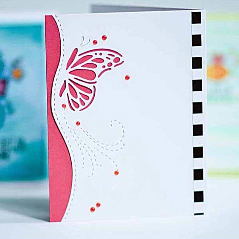 Cutting Dies Butterfly envelope greeting DIY card Metal Stencil Scrapbooking