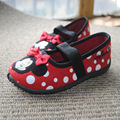 2015 children shoes girls shoes cute cartoon canvas shoes kids single shoes girls  butterfly-knot breathable sandals girls