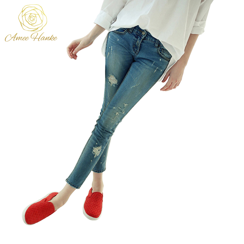 Skinny Plus Size Jeans 25 32 Women s Fashion boyfriend Jean For Woman Vintage Pencil Pants