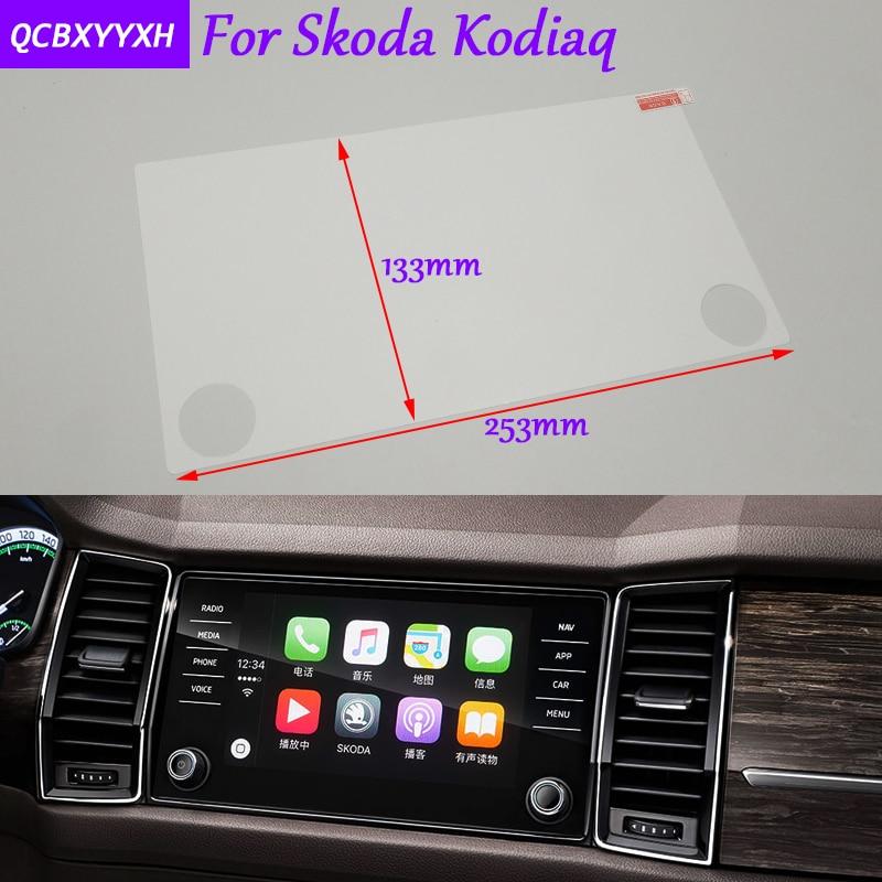 Car Sticker 8 6 5inch Gps Navigation Screen Glass Protective Film For Skoda Kodiaq Accessories