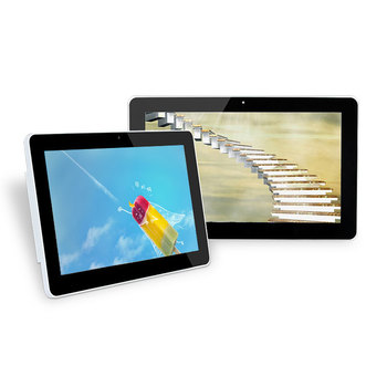 Commercial 10 inch android display Android all in one keyboard tablet pc for advertising