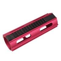 Auminum Steel Red CNC 14 Teeth High Speed Piston Gearbox AEG Airsoft Ver 2 3 Free