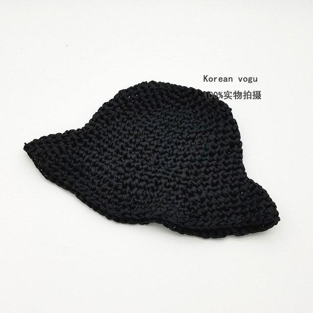 Hot Fashion Foldable Sun Hat Women s Summer Sun Cap Shade Sunshine Best  Option Beach Holiday Lady s Cap Top Quality 6 Colors 76857640613