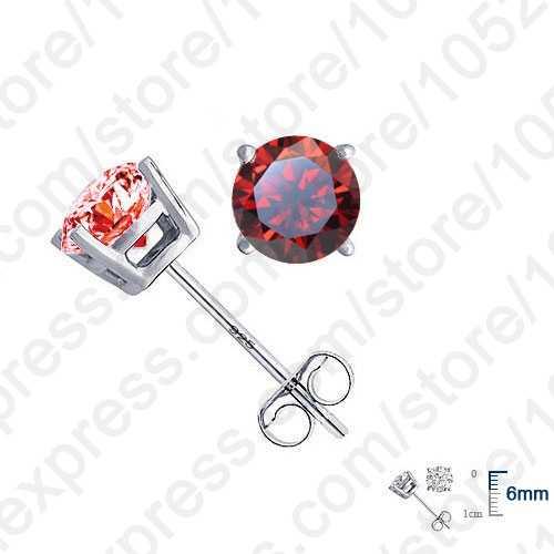 Bán Hàng Lớn Nữ Bạc 925 Đính Đá Cubic Zirconia Bông Tai Sang Trọng CZ Pha Lê Đá Cưới Phụ Kiện Trang Sức