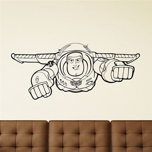 Beautiful Buzz Lightyear Wall Mural Great Ideas Part 23