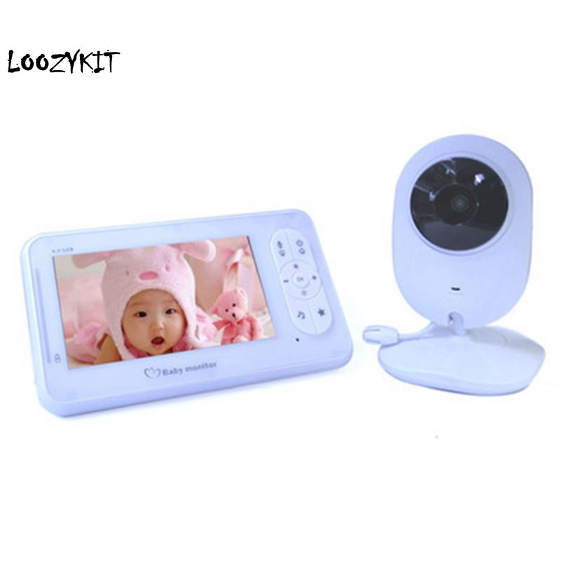 Herrlich Loozykit Nachtsicht Infant Wireless Monitor Baby Digitale Video Monitor Kamera Audio Musik Lcd Temperatur Radio Nanny Monitor Letzter Stil Mutter & Kinder