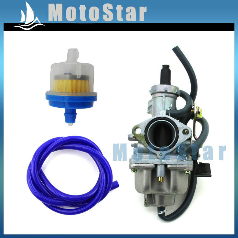 28mm Carburetor Fuel Hose Filter For Honda Carb TRX250 TRX250TE ...