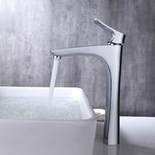 Micoe Basin Keran Kamar Mandi Basin Tap Deck Mounted Air Terjun Chrome Keran Panas Dingin Kran Air Kontemporer Chrome Keran H-HC216(China)