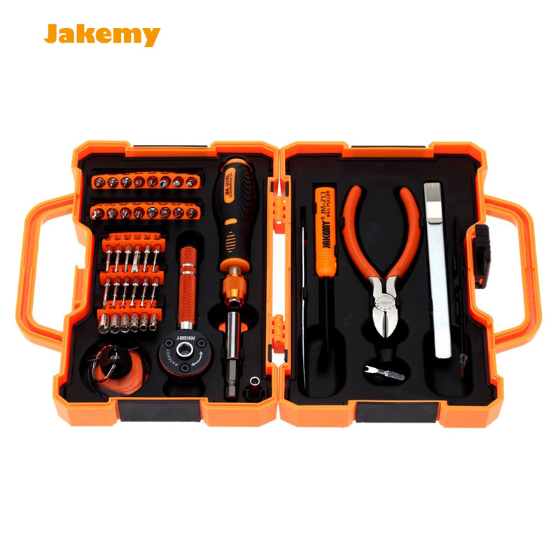 Precision Screwdriver Kit Repair Set Disassemble Tool with tweezers JM-8146 screw driver set for mobile cell phone laptop beryl screwdriver set precision screwdriver set telecommunication tool repair phone disassemble tool bt8001