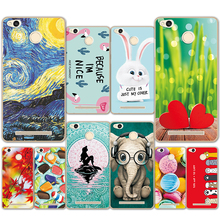 Various Mermaid Flamingo Style Phone Cases For Xiaomi Redmi 3s / hongmi 3s 5 inch Cover Coque Funda Hongmi 3s+Free Gift