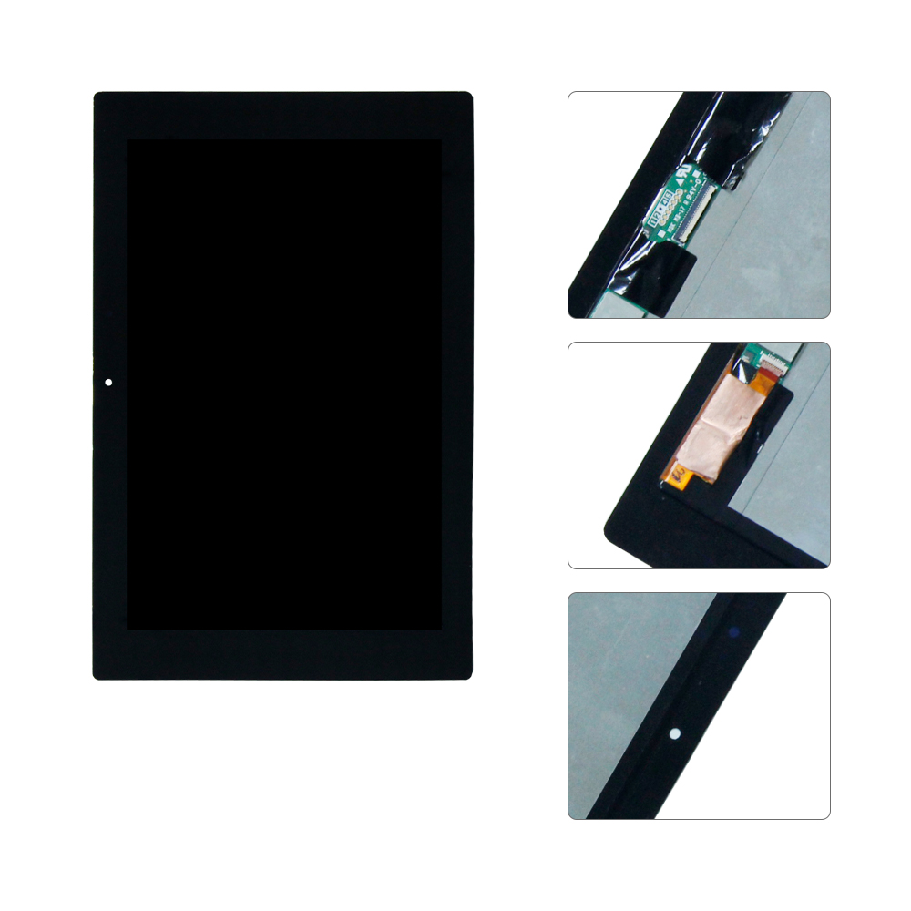 For Sony Tablet Z2 Xperia SGP511 SGP512 SGP521 SGP541 Touch Screen Digitizer Glass LCD Display Panel Monitor Assembly Free Tool for tablet xperia z2 sgp511 sgp512 sgp521 sgp541 lcd display touch screen assembly free shipping
