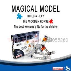 3D Metal mechanical Dream-Trojans model, assembling puzzles childrens toy , educational toys assembled magical model