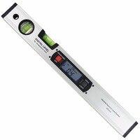 Цифровой угломер уровень 360 диапазон градусов уровень духов вертикальный Инклинометр с магнитами линейка транспортира