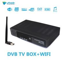Satellite & Terrestrischen receiver COMBO full HD Digitale DVB T2 + S2 TV Tuner Ausstehend FTA WIFi TV Empfänger T2 tuner Kostenloser Versand