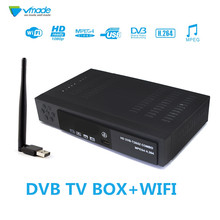 לווין & Terrestrial מקלט קומבו full HD דיגיטלי DVB T2 + S2 טלוויזיה מקלט חובה FTA WIFi טלוויזיה מקלט T2 מקלט משלוח חינם