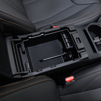 CAR CENTER ARMREST STORAGE BOX ORGANIZER TRAY FOR SUBARU XV 2018 2019 ACCESSORIES CAR STYLING