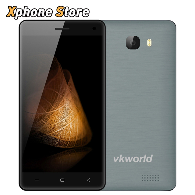 Original VKworld T5 SE 8GB ROM 1GB RAM Android 5.1 Smartphone 5.0'' 4G MTK6735 Quad Core 1.0GHz Dual SIM GPS FDD-LTE Cell Phone