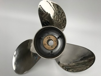 3x11.5x12 for 45HP-55HP JOHNSON propellers STAINLESS STEEL Propeller 13 tooth JOHNSON cheap boat motors marine propellers