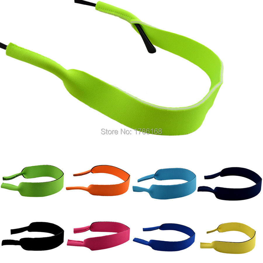 Хорошее качество взрослых очки неопрена Эластичный Спортивный ремешок шнур держатель 38 см 10 шт./лот