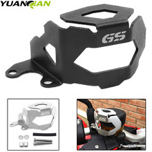 For BMW F800GS F700GS F800 F700 F 800 13-2018 Motorcycle Front Brake Pump Fluid Reservoir Guard Protector Oil Cup Cover GS LOGO