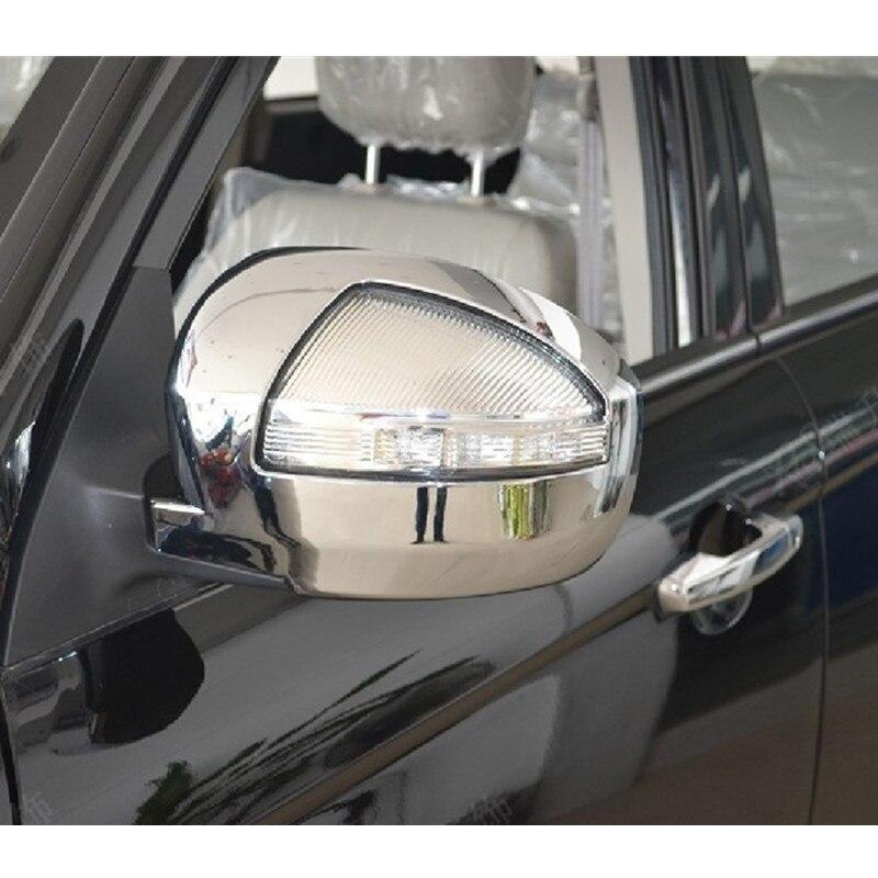 Car Styling Chrome ABS Porte Rétroviseur Couverture Autocollant 2 pcs Pour LIFAN X60 Livraison Gratuite