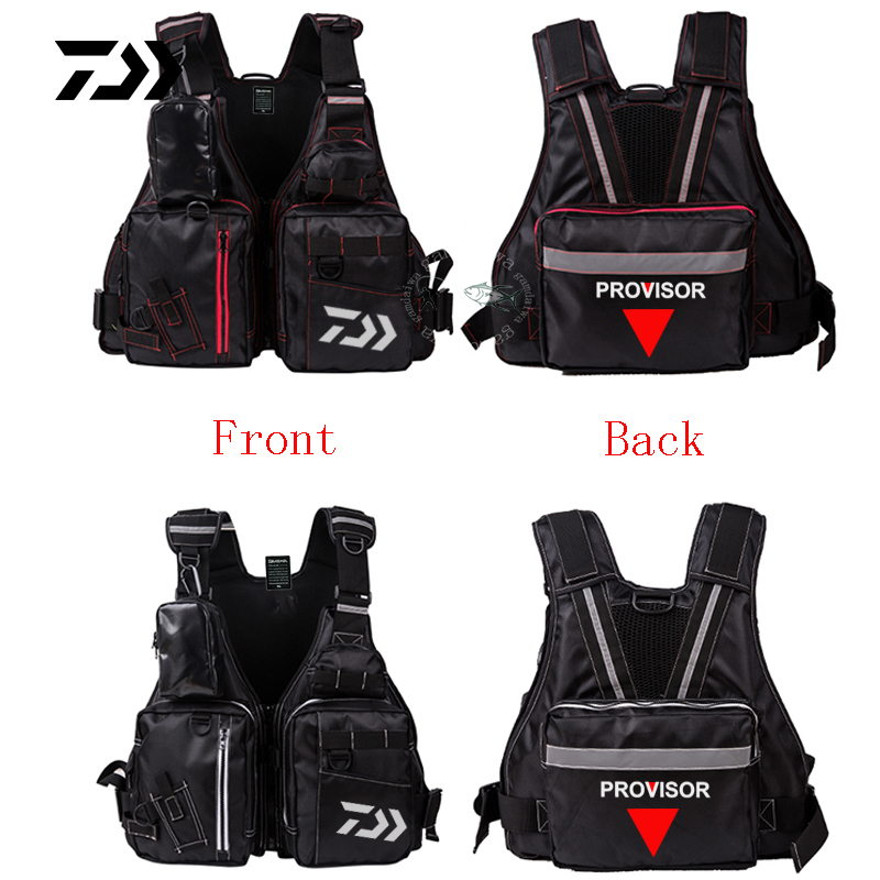 Blusea 2 In 1 Fishing Life Vest Outdoor Water Sports Swimming Safety Life Jacket For Boat Drifting Survival Colete Salva-vidas Fishing Fishing Apparel