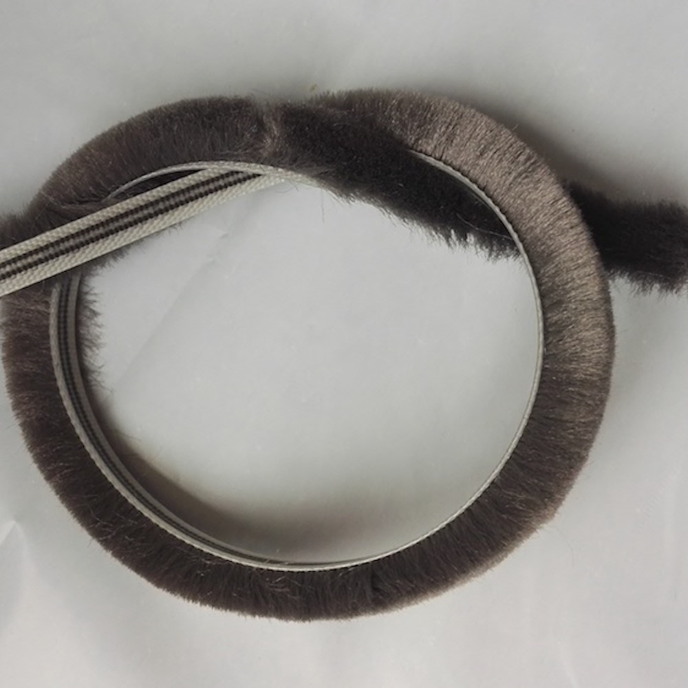Felt Draught Excluder Wool Pile Weather Strip Insert Sliding Sash Screen Window Door Brush Seal 5mm x 10mm 5x10mm 10m Gray Black