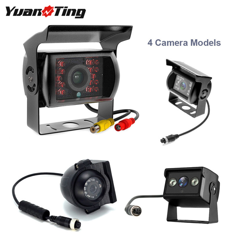 Yuanting Rear/Side-View-Camera Extension-Cable Trailer Truck Vehicle Night-Vision