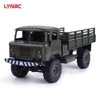 Lynrc BK-24 1/16 RC военный грузовик 4 Колеса Пульт дистанционного управления внедорожный RC автомобиль модель дистанционного управления восхожден...