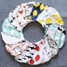 Хлопковая детская шапка кепки с принтом для маленьких мальчиков и девочек Младенческая шапочка на весну, осень, зиму, детские шапки, шапки для новорожденных от 0 до 3 лет