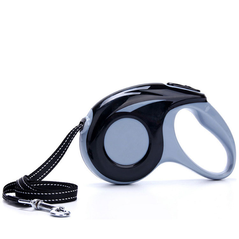 No Tangle Reflective Nylon Ribbon Retractable Dog Leash For Walking Small Medium Large Breed Dogs Automatic Extendable Pet Leads