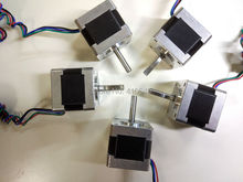 5 pieces 3D Printer Stepper Motor 14HS13-0804S L34mm Nema 14 with 1.8 deg 0.8A 18 N.cm equal to 14HY3402 and 35HS3408