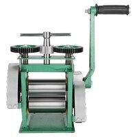 Flat Hand Operate mini gold Rolling Mill , jewelry rolling mill tablet press machine