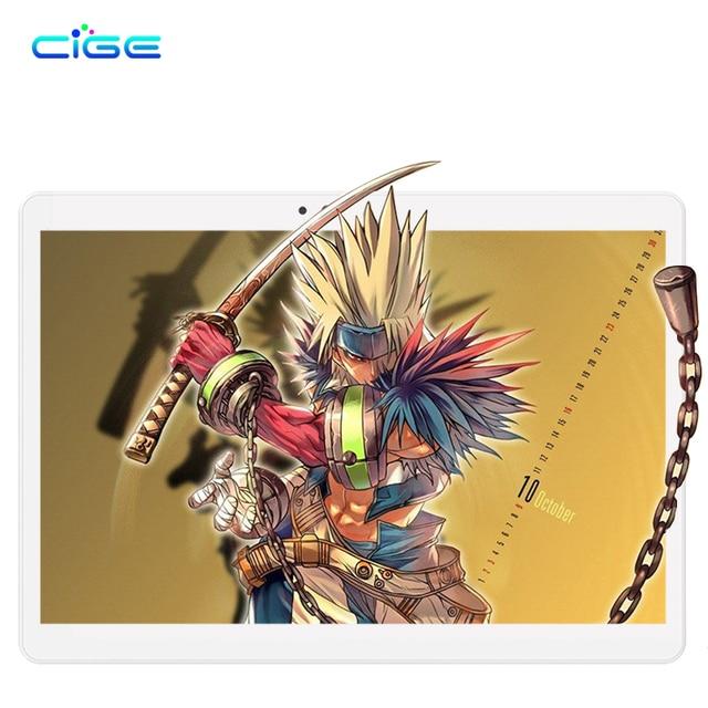 CIGE M9 Tablet PC Newset 10.1 inch Tablets 4GB RAM 64GB ROM Phone Call Dual SIM Card WIFI 4G Lte bluetooth Octa core MT8752